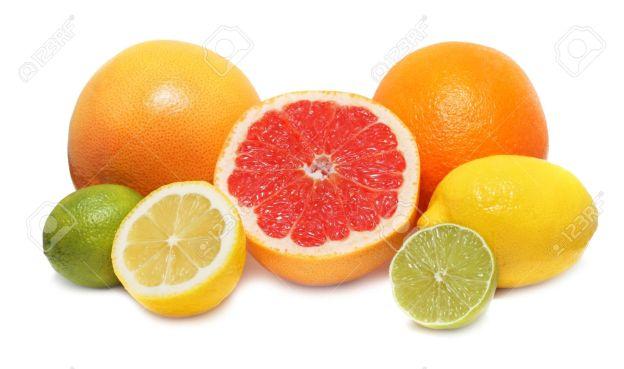 14698899-Citrus-fruits-lemon-lime-orange-and-grapefruit-isolated-on-white-background-with-shadows-Stock-Photo